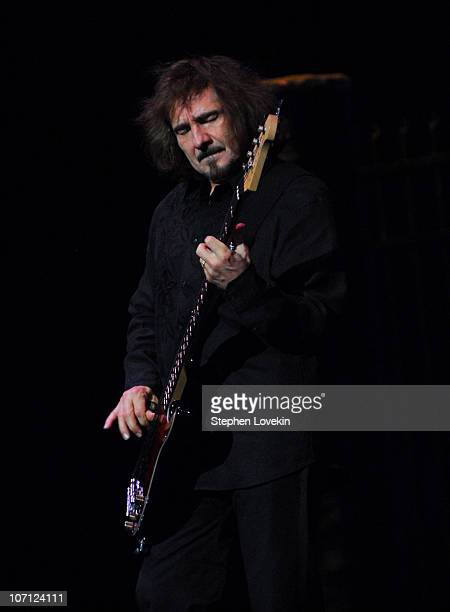 Geezer Butler during Heaven and Hell Black Sabbath Featuring Ronnie James Dio in Concert at Radio City Music Hall in New York City March 30 2007 at...