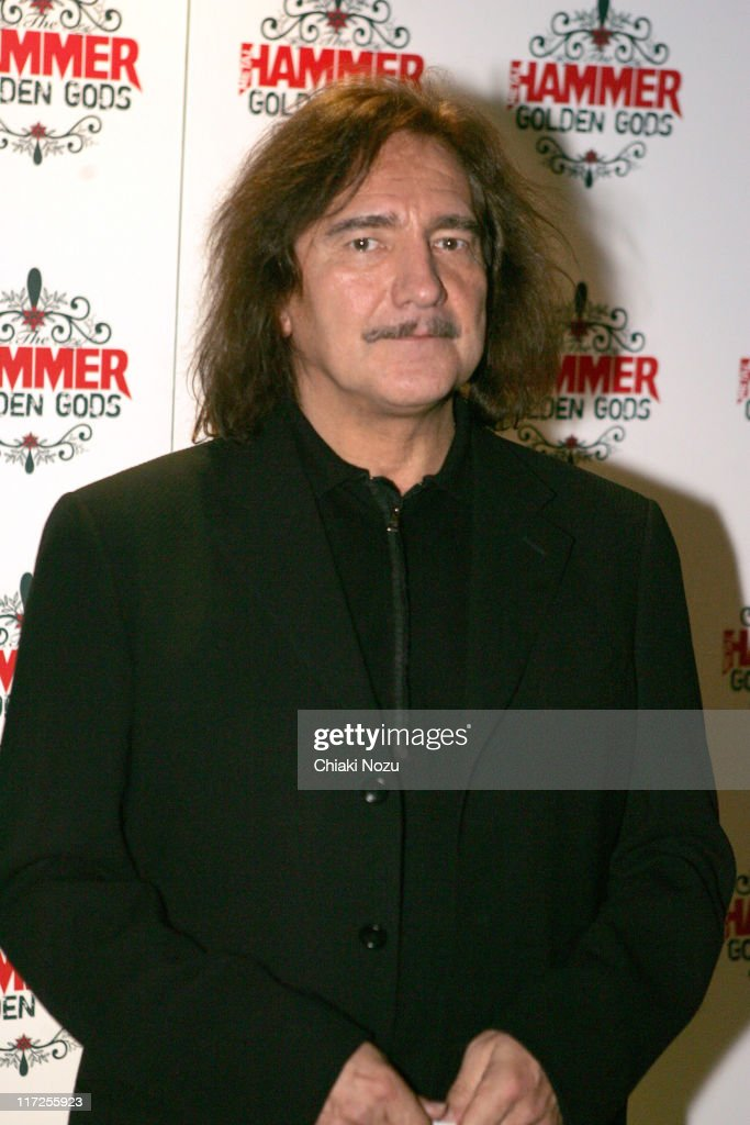 Geezer Butler from Black Sabbath during The Metal Hammer Golden Gods Awards 2005 - Arrivals & Press Room at The Astoria in London, Great Britain.
