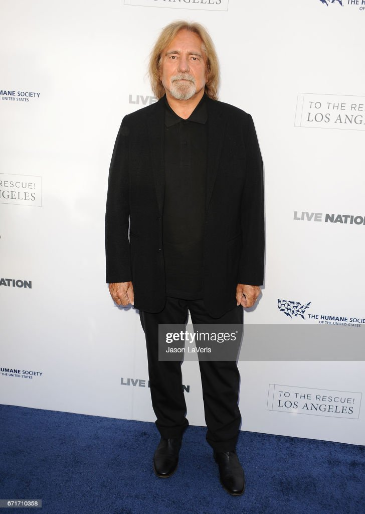 Geezer Butler of Black Sabbath attends Humane Society of The United States' annual To The Rescue! Los Angeles benefit at Paramount Studios on April 22, 2017 in Hollywood, California.