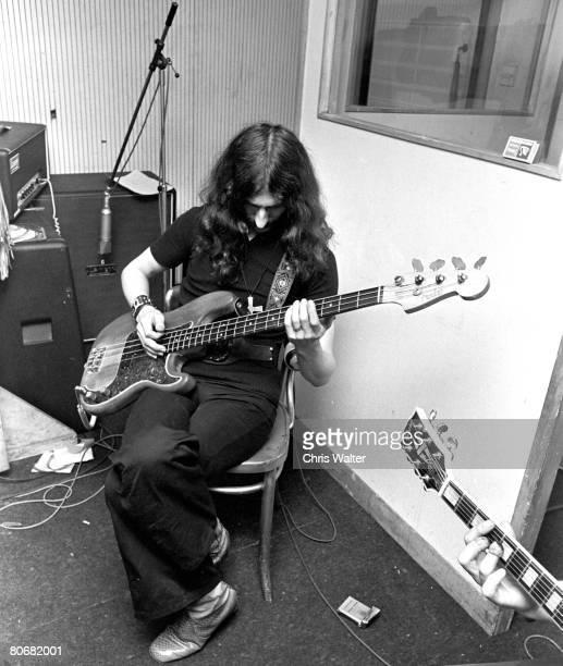 Geezer Butler of Black Sabbath