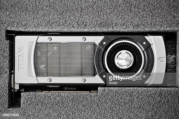 nvidia geforce gtx titan - nvidia corporation - fotografias e filmes do acervo
