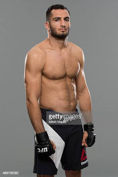 Gegard Mousasi poses during a UFC photo session on September 23 2015 in Tokyo Japan