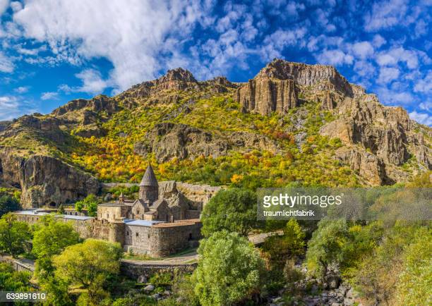 geghard monastery - armenia stock pictures, royalty-free photos & images
