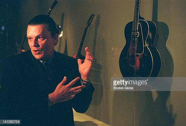 J Geils of Boston's J Geils Band speaks lovingly of the archtop ES150 model Gibson from 1936 which he has loaned the Museum of Fine Arts to display...
