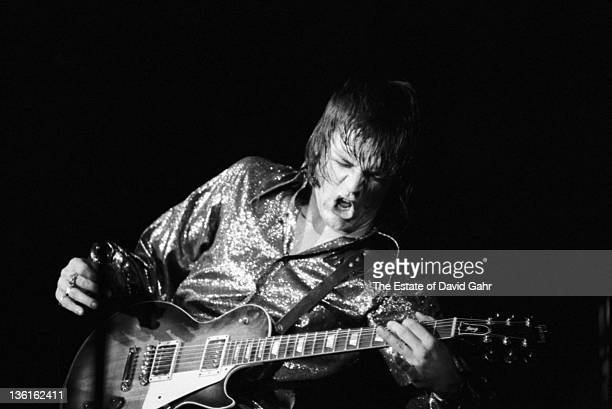 J Geils of The J Geils Band performs at the Mar Y Sol Festival in April 1972 in Manati Puerto Rico