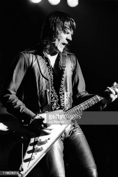 J Geils performs with the J Geils Band at the Oakland Auditorium on March 24 1979 in Oakland California
