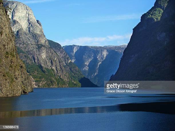 Geirangerfjord in winter, Norway