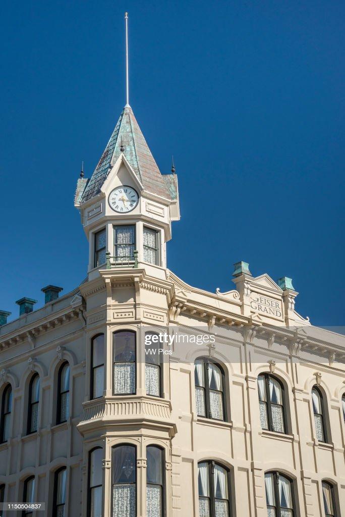 Geiser Grand Hotel Baker City Oregon Foto Di Attualita Getty Images