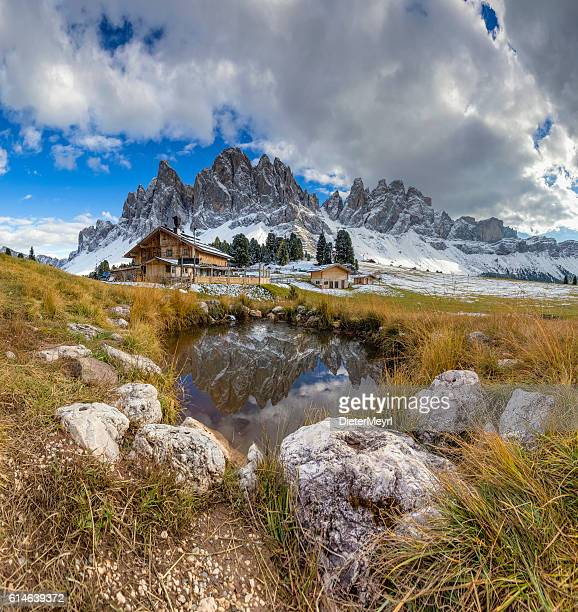 Geisler Group in Geisler National Park, Alps - South Tirol