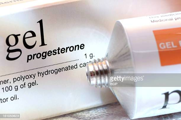 Gel Containing Progesterone For Local Application This Hormone Replacement Therapy Hrt Is Recommanded In The Treatment Of Benign Mastopathies Such As...