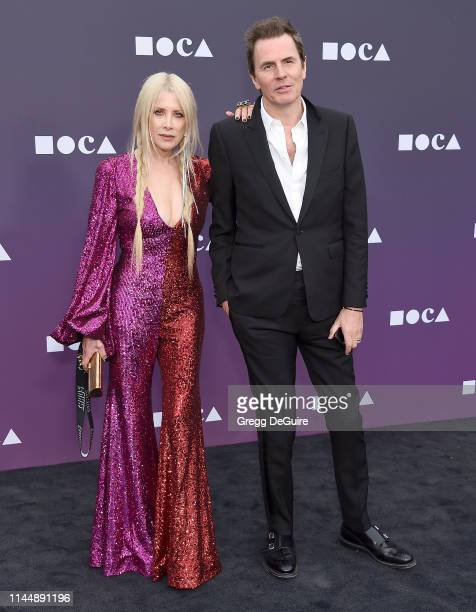 Gela NashTaylor and John Taylor attend the MOCA Benefit 2019 at The Geffen Contemporary at MOCA on May 18 2019 in Los Angeles California