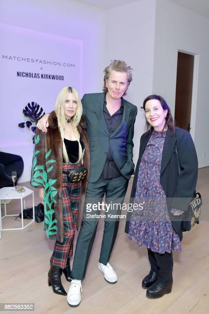Gela NashTaylor John Taylor and Arianne Phillips attend Nicholas Kirkwood and China Chow Host A Dinner For Matches Fashion on November 29 2017 in Los...