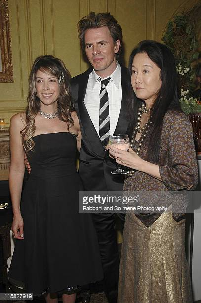 Gela NashTaylor John Taylor and Vera Wang during CFDA Party for New Designers Hosted by Vera Wang at Private Residence in New York City New York...