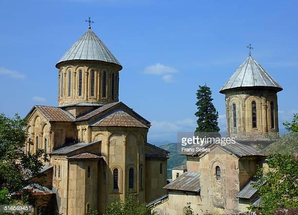 gelati monastery, georgia - frans sellies stockfoto's en -beelden