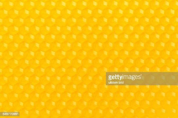 Gelbe Wabe aus Honig Honigwabe für Hintergrund