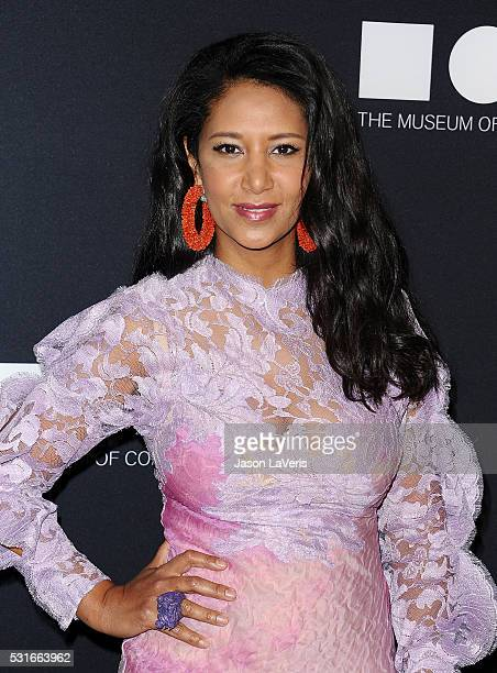 Gelila Assefa attends the 2016 MOCA Gala at The Geffen Contemporary at MOCA on May 14 2016 in Los Angeles California
