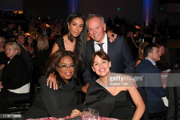 Gelila Assefa Wolfgang Puck Oprah Winfrey and Jennifer Garner attend Save The Children's Centennial Celebration Once in a Lifetime at The Beverly...