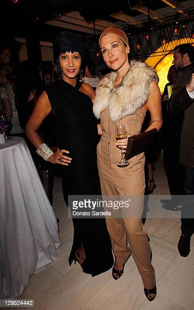af3df4df Gelila Puck and Sally Perrin attend Moda Operandi Hosts Party to Celebrate  Derek Blasberg's Very Classy
