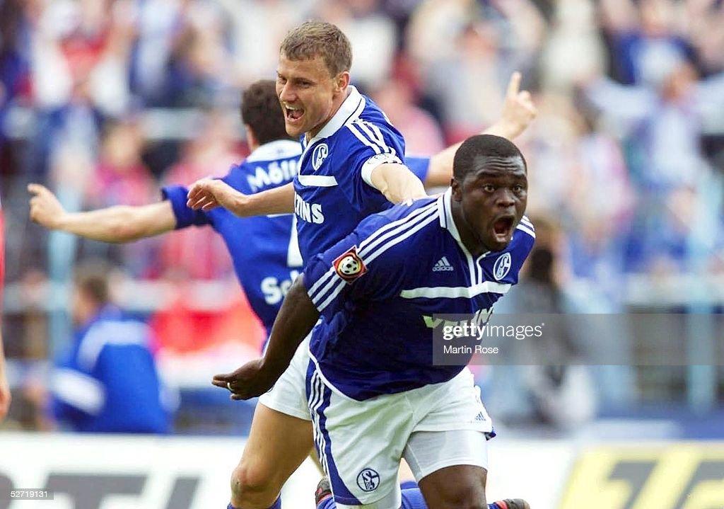 FC SCHALKE 04 - SpVgg UNTERHACHING : News Photo