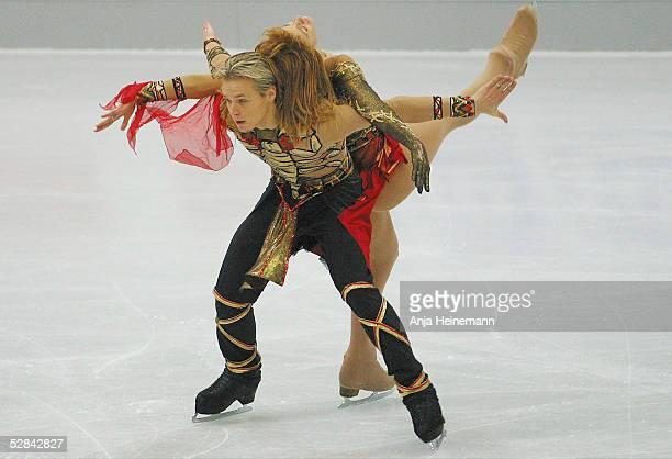ICE 2002 Gelsenkirchen Sieger Albena DENKOVA und Maxim STAVIYSKI/BUL