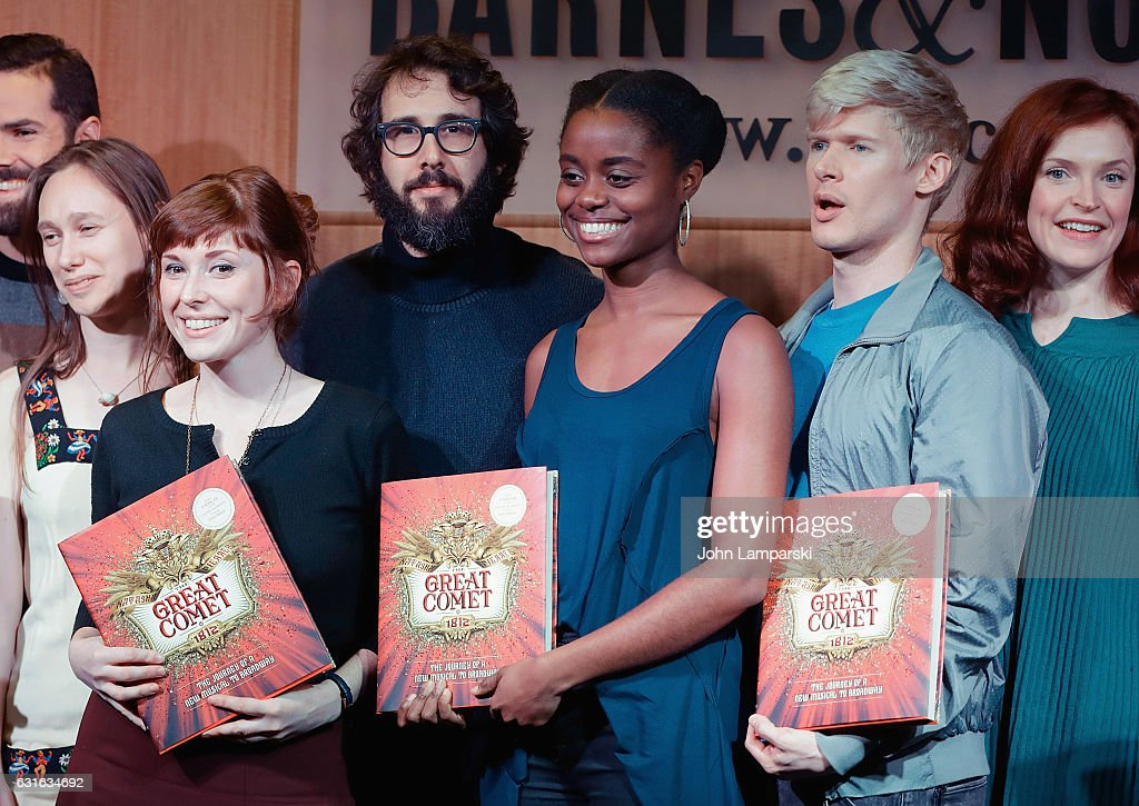 "The Cast & Creative Team Celebrate The Release Of The New Book ""The Great Comet: The Journey of a New Musical to Broadway"""