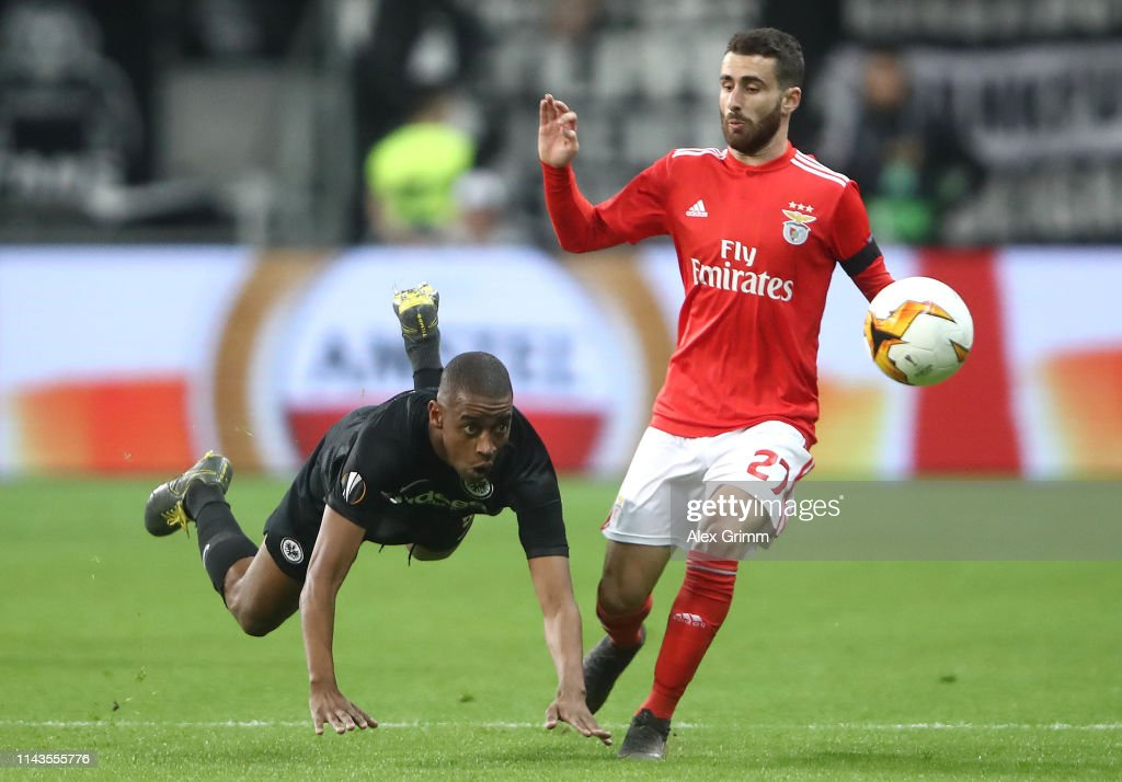 Eintracht Frankfurt v Benfica - UEFA Europa League Quarter Final : Second Leg : Photo d'actualité