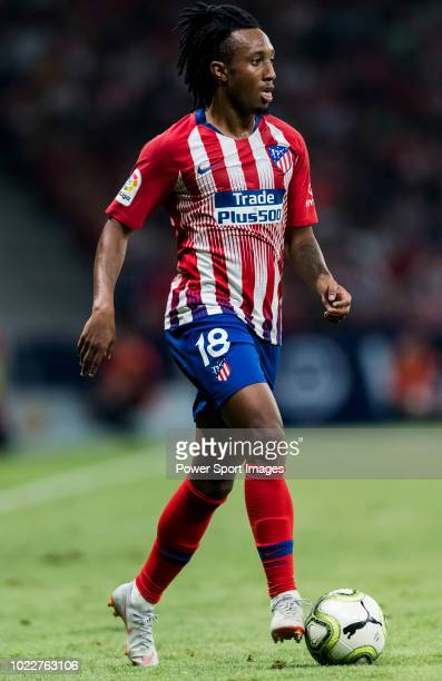 Gelson Martins of Atletico de Madrid in action during their International Champions Cup Europe 2018 match between Atletico de Madrid and FC...