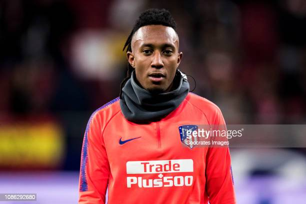 Gelson Martins of Atletico Madrid during the Spanish Copa del Rey match between Atletico Madrid v Girona at the Estadio Wanda Metropolitano on...