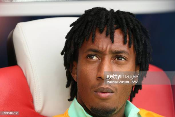Gelson Martins of Portugal during the FIFA Confederations Cup Russia 2017 Group A match between Russia and Portugal at Spartak Stadium on June 21...