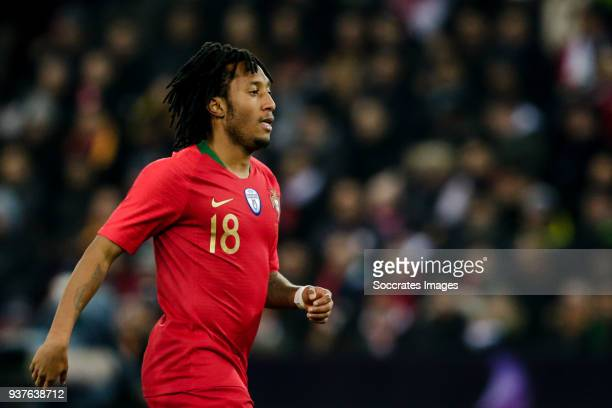 Gelson Martins of Portugal during the International Friendly match between Egypt v Portugal at the Letzigrund Stadium on March 23 2018 in Zurich...