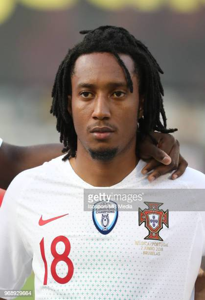 Gelson MARTINS pictured during a friendly game between Belgium and Portugal as part of preparations for the 2018 FIFA World Cup in Russia on June 2...