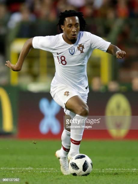 Gelson Martins van Portugal during the International Friendly match between Belgium v Portugal at the Koning Boudewijnstadion on June 2 2018 in...