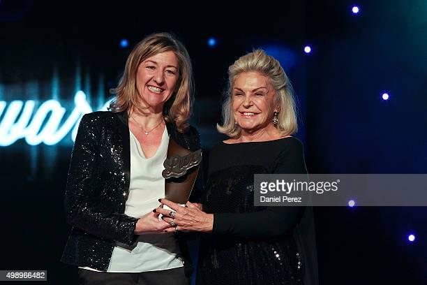 Gema Arcas and Beatriz de Orleans attend the Luxury Advertising Awards 2015 on November 27 2015 in Marbella Spain
