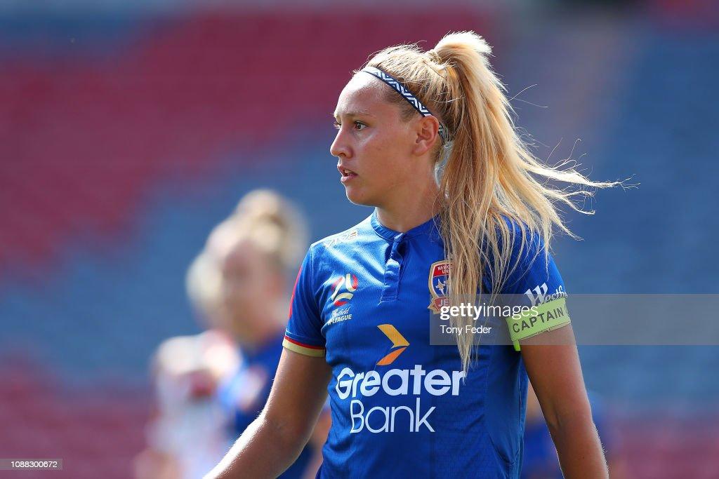 W-League Rd 9 - Newcastle v Adelaide : News Photo