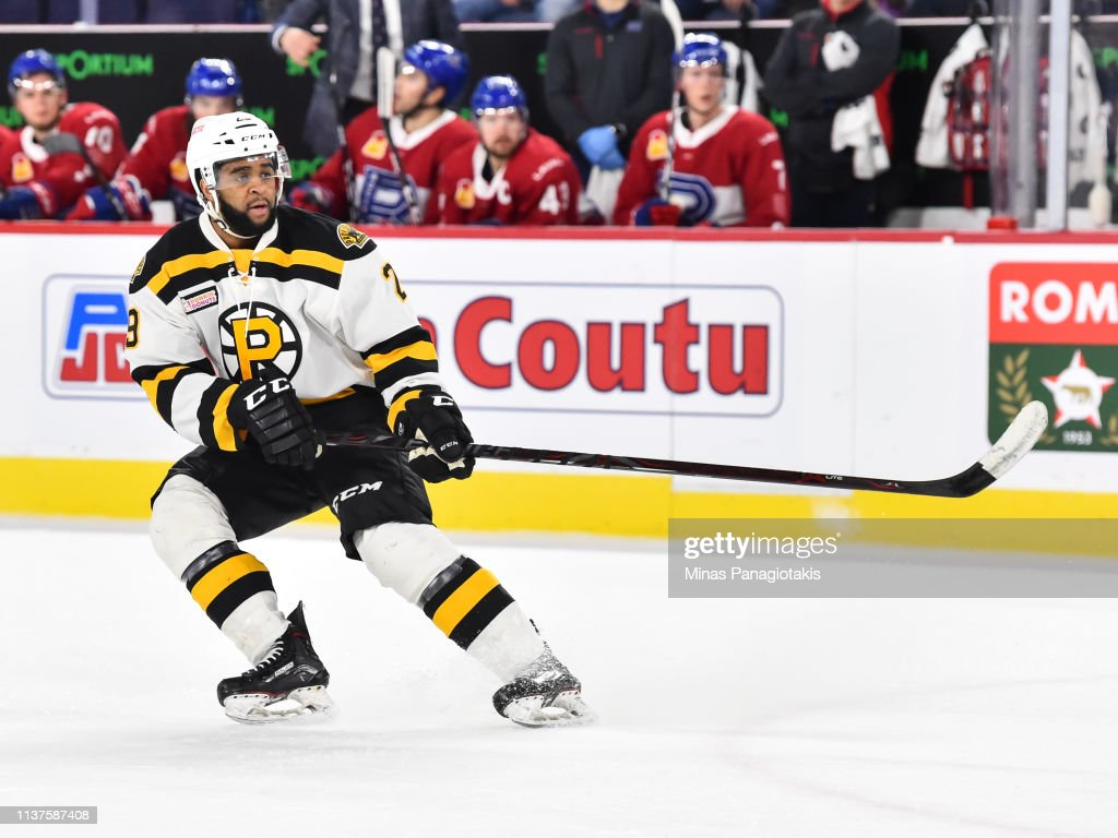 Providence Bruins v Laval Rocket : News Photo