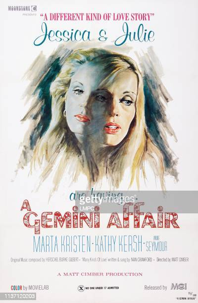 Gemini Affair poster US poster art Marta Kristen Kathy Kersh 1975