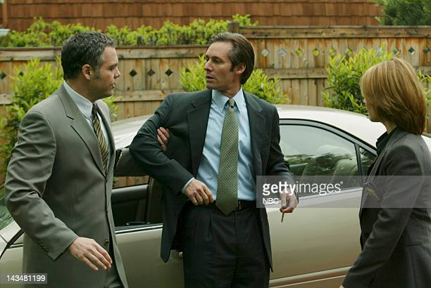 INTENT Gemini Episode 2 Aired 10/5/03 Pictured Vincent D'Onofrio as Detective Robert Goren Michael Gill as Spencer Anderson Kathryn Erbe as Detective...