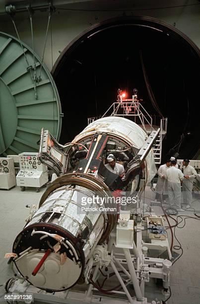 Gemini Space Capsule Testing at McDonnell Douglas