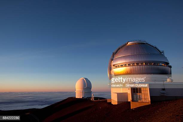 gemini telescope - mauna kea observatory - observatory stock pictures, royalty-free photos & images