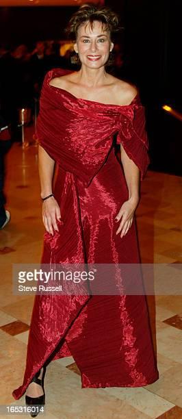 Mimi Kuzyk at the annual Gemini Awards in Toronto, November 4, 2002.