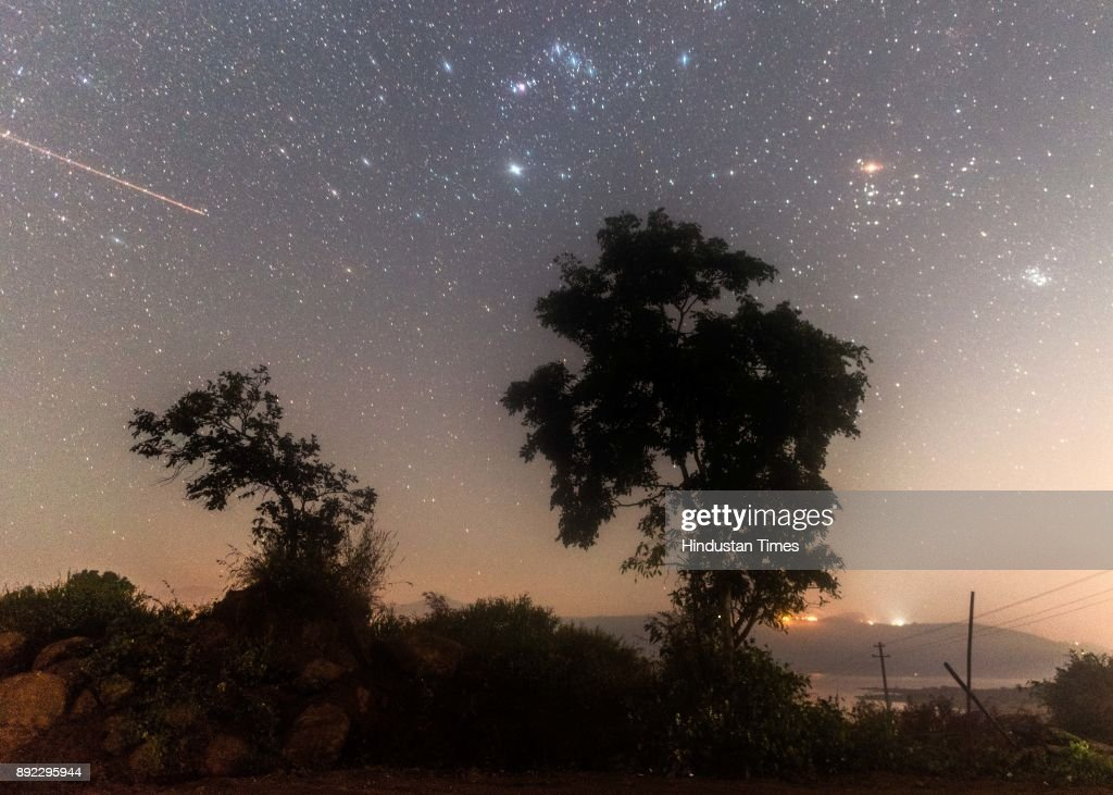 Geminid Meteor Shower Seen In Mumbai