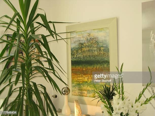 "Gemälde von Kunst-Maler N o r b e r t S c h w a r z e r, Atelier in der Mackensen-Villa, ""Offene Ateliers"", Worpswede , Teufelsmoor, Niedersachsen,..."
