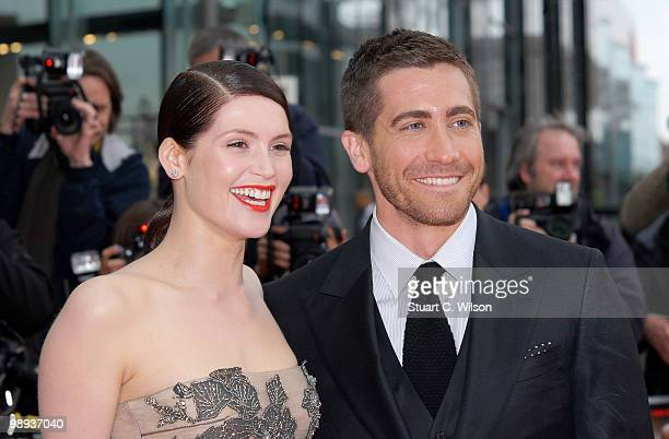 Gemma Arterton and Jake Gyllenhaal attend the World Premiere of 'Prince of Persia: The Sands of Time' at the Vue Westfield on May 9, 2010 in London,...