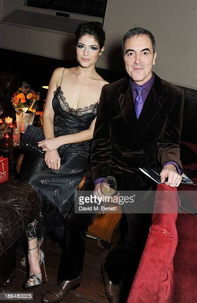 Gemma Arterton and James Nesbitt attend the UNICEF UK Halloween Ball hosted by Jemima Khan raising vital funds for UNICEF's work for children...