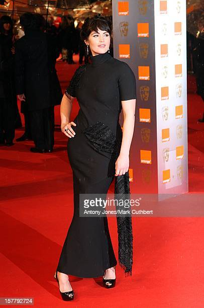 Gemma Arterton Arriving For The 2009 British Academy Film Awards At The Royal Opera House In Covent Garden Central London