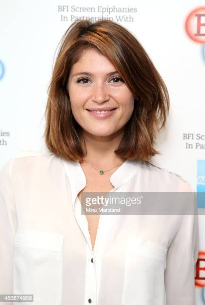 Gemma Arterton at BFI Southbank, introducing the film that inspired her as part of the BFI Screen Epiphanies series, a monthly BFI membership...
