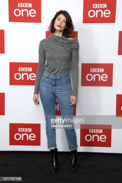Gemma Arterton attends a photocall for BBC One's 'Watership Down' at BFI Southbank on November 24 2018 in London England