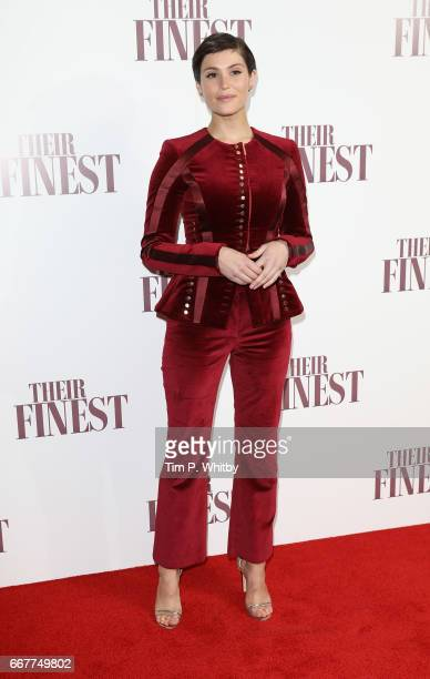 Gemma Arterton attends a special presentation screening of 'Their Finest' at BFI Southbank on April 12 2017 in London United Kingdom