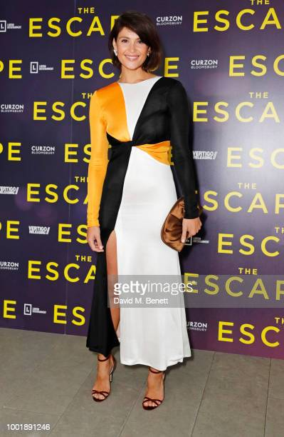 Gemma Arterton attends a special screening of 'The Escape' at The Curzon Bloomsbury on July 19 2018 in London England
