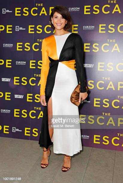 Gemma Arterton attends a special screening of The Escape at The Curzon Bloomsbury on July 19 2018 in London England